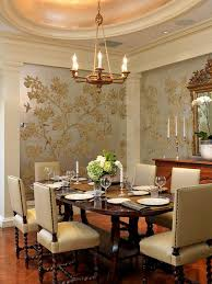 Wallpaper Designs For Dining Room Lovely Wallpaper Designs Dining Ideas Traditional Amazing