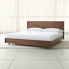 Mattress For Platform Bed Platform Beds Crate And Barrel