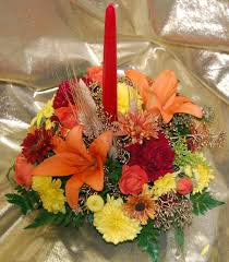 small thanksgiving small thanksgiving arrangement single candle for all occasions