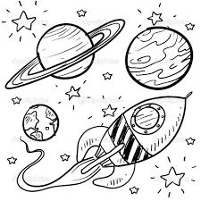 planet coloring pages cartoon of a black and white 17710