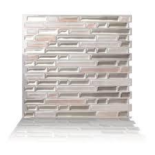 Peel And Stick Backsplash Ireland Tic Tac Tiles Tile Backsplashes Tile The Home Depot