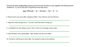 Simple Complex And Compound Sentences Worksheet Compound Sentences You Can Join Short Sentences Together To Make A
