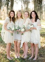 and white bridesmaid dresses wedding trends we lace bridesmaid dresses wedding by