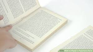 photo book pages 5 ways to repair a paperback book wikihow