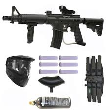 us army alpha black tactical tippmann paintball elite marker gun