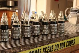 interior design cops and robbers themed party decorations home