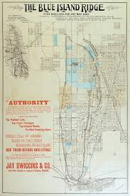 Chicago Heights Map by Ridge Historical Society The Blue Island Ridge Map