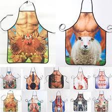 tabliers cuisine 1 pcs mode homme femmes imprimé tablier bavoirs cuisine