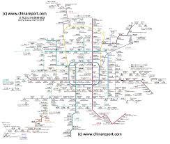 Beijing Map Map Beijing Subway Metro System Plan 2015 System