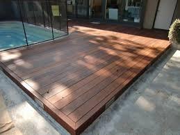 don u0027t use merbau timber deck over concrete architecture
