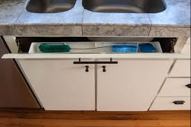 cabinet kitchen sink here s how cabinet hacks dramatically increased my