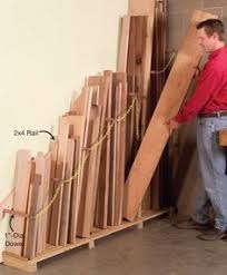 Wood Storage Rack Woodworking Plans by Easy Portable Lumber Rack Free Diy Plans Lumber Rack