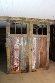 Rustic Room Dividers by Mission Style Pine Barn Door Room Dividers Multi Colored Made