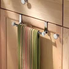 kitchen cabinet towel rack kitchen cabinet door towel rack double over cabinet door kitchen