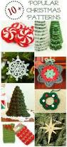 christmas crochet ornaments with free patterns ornament