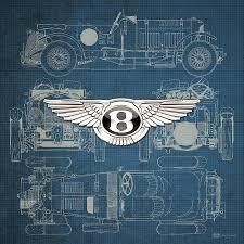 vintage bentley grill bentley 3 d badge over 1930 bentley 4 5 liter blower vintage