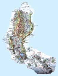 Topographic Map Of Europe by Large Detailed Road And Topographical Map Of Philippines