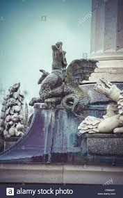 ornamental fountains of the palace of aranjuez madrid spain wo