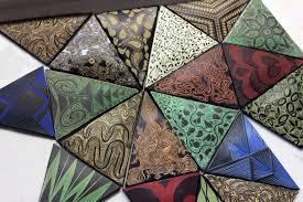 Ceramic Backsplash Tiles Geo Tile Natalie Blake Studios