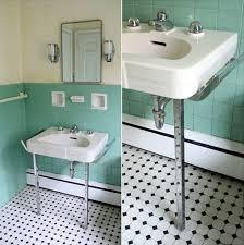 Bathroom Floor Tiles Ideas 36 1950s Green Bathroom Tile Ideas And Pictures