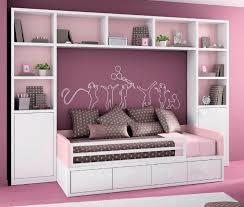 lit chambre fille armoire pont de lit pour chambre d enfant fille