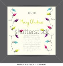 vector illustrated christmas garland stock vector 64562833