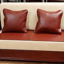 Leather Sofa Cushion Covers China Direct Factory Wholesale Design Luxury Leather Sofa