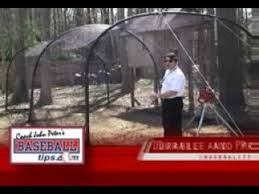portable baseball softball backyard batting cages youtube