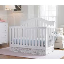 Used Round Crib For Sale by Fisher Price Kingsport 4 In 1 Convertible Crib Snow White