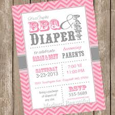 baby shower for couples chevron couples bbq and ba shower invitation baby shower