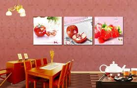inexpensive kitchen wall decorating ideas fruit wall decor painting home kitchen decorating ideas
