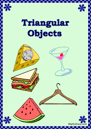 identifying triangular shapes worksheet mathsdiary com