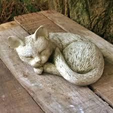 garden cat statues home outdoor decoration