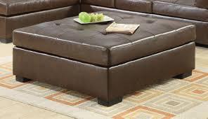 Brown Ottoman Leather Brown Ottoman Simply Design