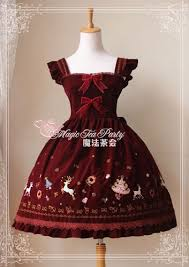 magic tea party christmas twilight jumper dress 87 99 cotton