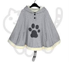 cat sweater neko atsume cat sweater hoodie cloak cape cp168276 cospicky