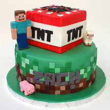 mindcraft cakes minecraft cake cakecentral