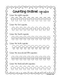 free worksheets worksheets for ordinal numbers free math