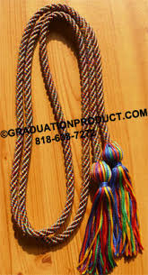 graduation cord rainbow graduation honor cords 3 75 graduationproduct