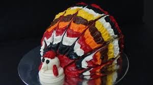 thanksgiving cupcake decorating ideas thanksgiving turkey cake youtube