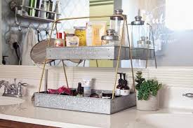 Tiered Bathroom Storage Bathroom Counter Shelf Home Design Ideas And Pictures