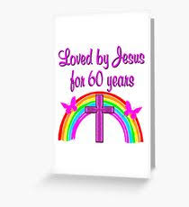 birthday cards for 60 year christian 60th birthday greeting cards redbubble