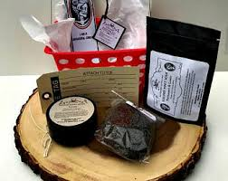 organic spa gift baskets stress relief gift etsy