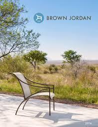 Richard Frinier Brown Jordan by Brown Jordan Catalog 2016 Web By Brown Jordan Issuu