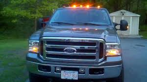 ford f250 cab lights kit f350 super duty atomic led roof lights and mirror mod youtube