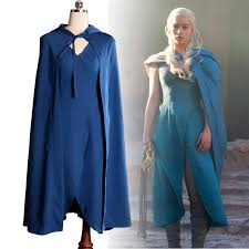 Games Thrones Halloween Costumes Aliexpress Buy Game Thrones Daenerys Targaryen Cosplay
