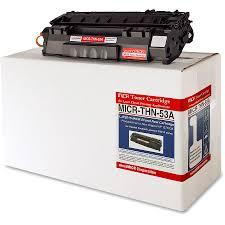 Toner Mcm micromicr micrthn53a micromicr black toner cartridge mcmmicrthn53a