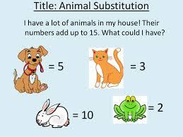 algebra zoo fun substitution worksheet by captainloui teaching
