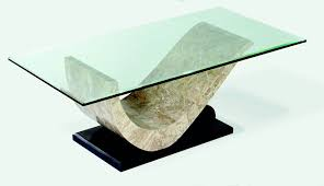 stone and glass coffee table stone and glass coffee table