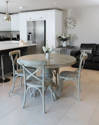 round table dining room vintage round dining table and chairs for small kitchen decorating